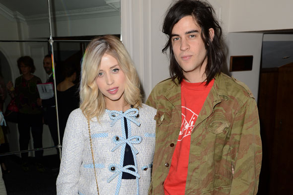 Joy for Peaches Geldof as she welcomes second son