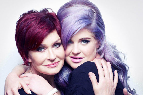Sharon and Kelly Osbourne get behind cancer campaign