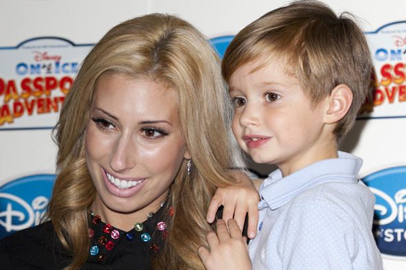 Stacey Solomon reveals teen pregnancy PND