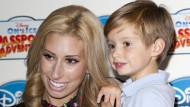Stacey Solomon was 'devastated' to be pregnant at 17