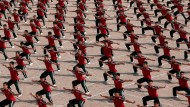 The world's most disciplined school children?
