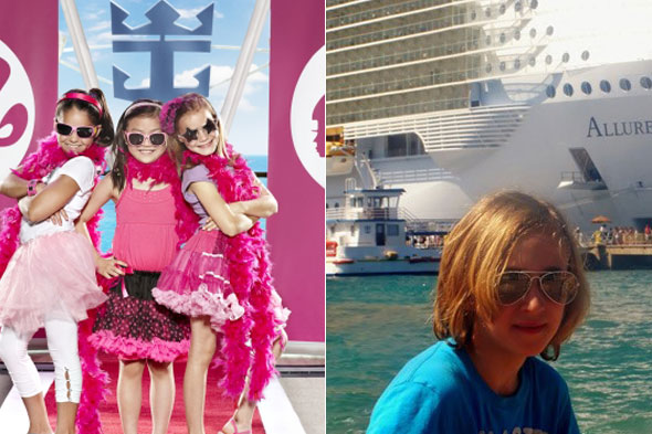 The world's first Barbie cruise - with my boy