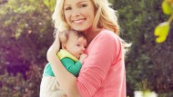 Nell McAndrew shows off new baby daughter and reveals she is back in shape
