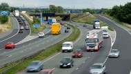 Newborn baby boy dies in motorway crash