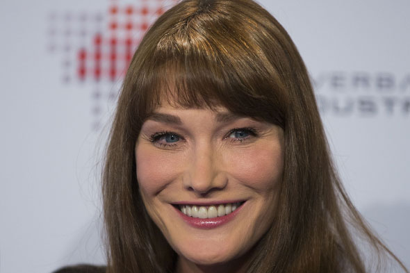 Carla Bruni says it's hard being an older mother