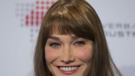 Carla Bruni admits it's hard being a mum in your 40s