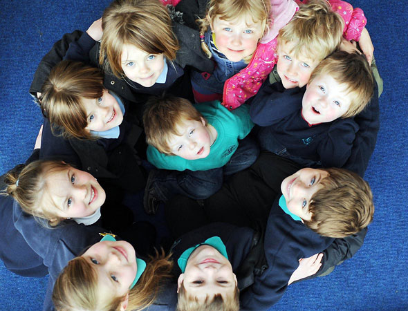 Tiny village school boasts five sets of twins