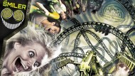 The Smiler at Alton Towers: See the new 14 loop rollercoaster in action