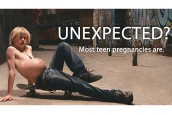 New poster campaign shows pregnant BOYS
