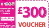 WIN a £300 voucher to spend with Kiddies Kingdom!