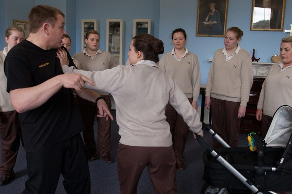 Elite nannies learn martial arts to foil kidnap threats to wealthy children