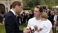 Prince William says he can't wait to be a dad