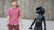 Schoolboy's Kiss Ass 2 movie debut - as a fibreglass sculpture!
