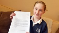 Schoolgirl writes to Education Secretary Michael Gove after spotting errors in SATs paper