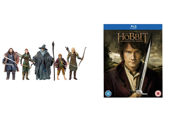 WIN 'The Hobbit: An Unexpected Journey' on Blu-ray plus 'The Hobbit' toys!