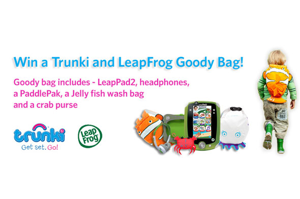 WIN a LeapPad 2 and Trunki ride-on suitcase!