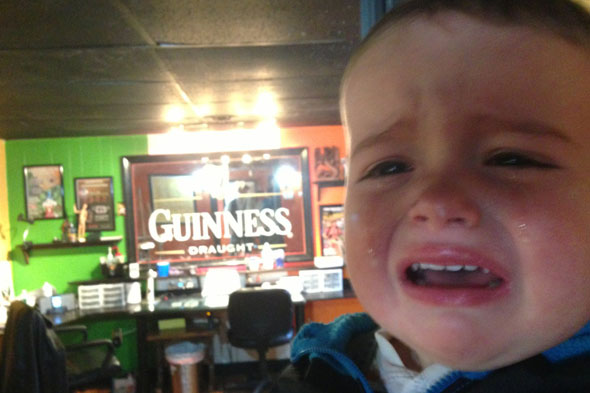 Hilarious or cruel? Dad's 'Reasons My Son Is Crying' blog showcases toddler tantrums