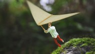 14-year-old's amazing images of tiny boy in fantasy world