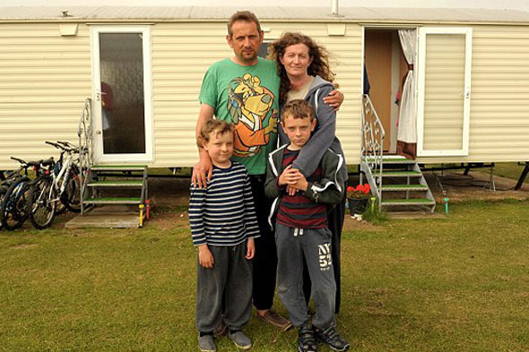Tenant refuses to leave transplant boy's family home - leaving him living in caravan park