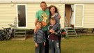 Kidney transplant boy forced to live in caravan after sitting tenant takes family home