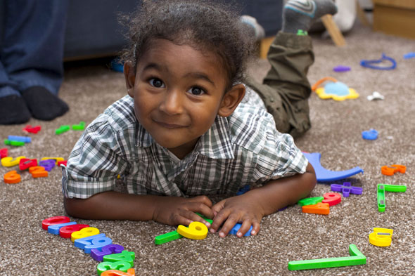 Mini-genius Adam, aged 2, is Mensa's youngest member