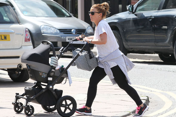 Slimline Coleen's post-pregnancy diet plan revealed