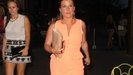 Coleen Rooney shows off her post-baby figure on girls' night out