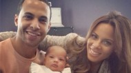 Rochelle and Marvin Humes share picture of beautiful baby Alaia-Mai