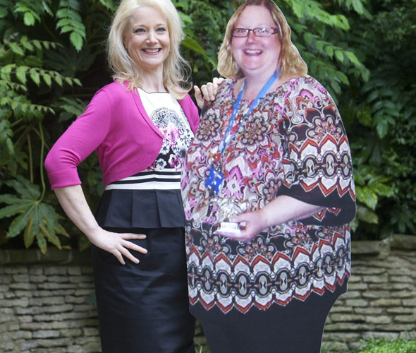 Mum lost incredible 16 stone because she feared getting stuck in a plane seat