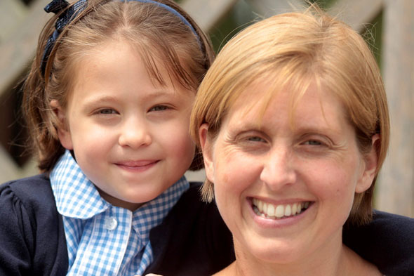 Mum donates part of her liver to beat daughter's 'incurable' cancer
