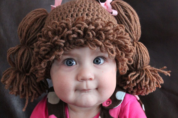 Would you put your baby in a Cabbage Patch Kids wig?
