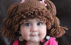 Would you put your baby in a Cabbage Patch Doll wig?
