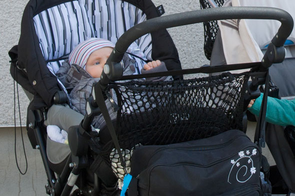Road rage solicitor reversed into baby's pram