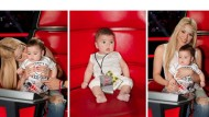 Starting him early! Shakira takes son Milan to The Voice