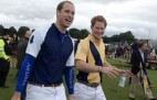 Schoolgirl snaps polo-playing Princes William and Harry