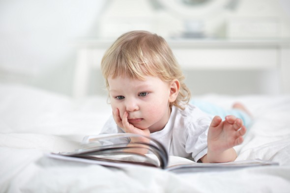 Top 5 books for a 1 year-old 'reader'
