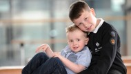 Boy, 9, saves his brother's life - just hours after passing first aid course