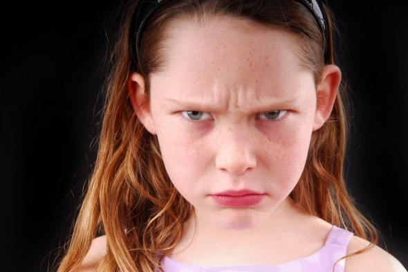 Top tips for helping your angry child