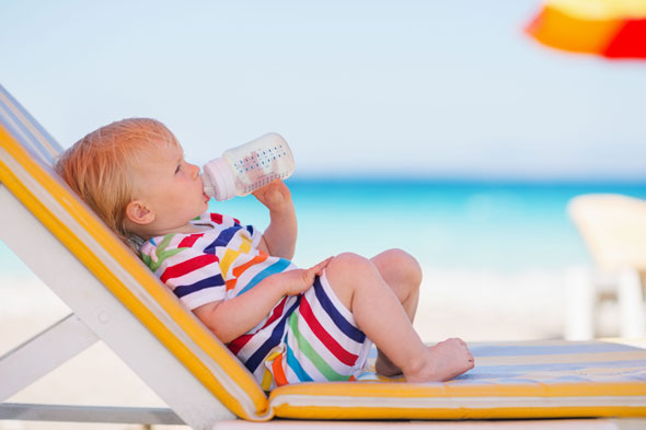 Baby, it's hot outside: How to keep little ones cool