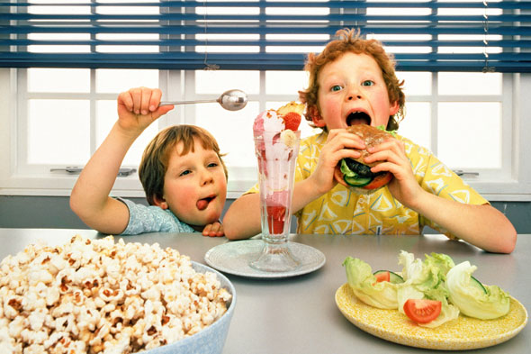 Scurvy and rickets return because of kids' junk food diets