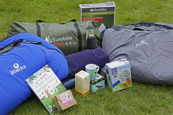 WIN a Blacks and RSPB Big Wild Sleepout kit worth over £400!