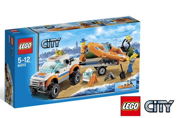 WIN LEGO® CITY toys!