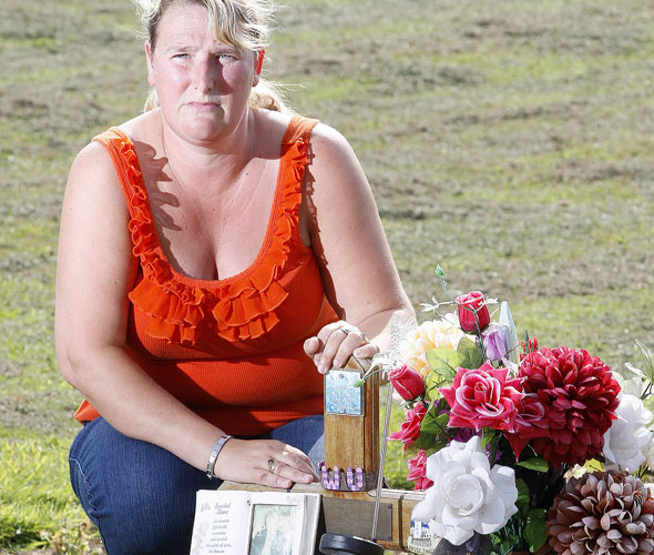 Grieving relatives fined for having too many flowers on gravestones