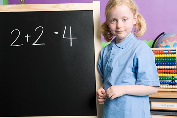 Third of five-year-olds can't count to 10