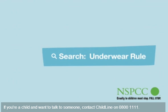 NSPCC campaign tells parents to 'talk PANTS' to protect kids