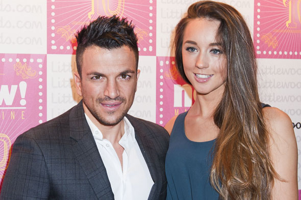 Baby news for Peter Andre and girlfriend Emily MacDonagh