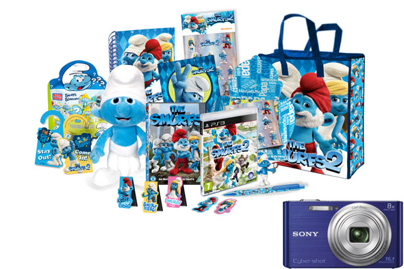Win a Sony camera and Smurf goodie bag with The Smurfs 2 - in cinemas31st July!