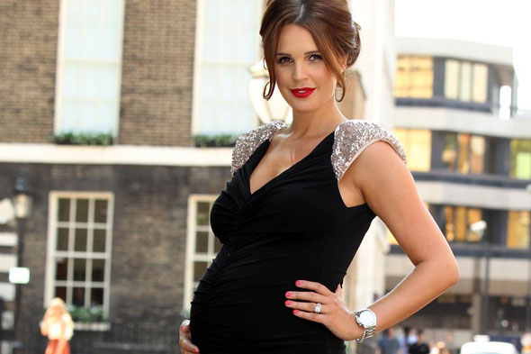 Danielle O'Hara gives birth: Hatrick for footballer Jamie!