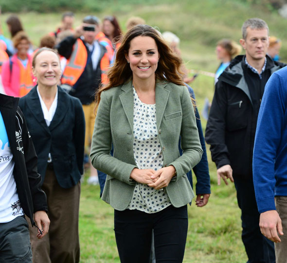 Duchess of Cambridge makes first public appearance since giving birth to Prince George