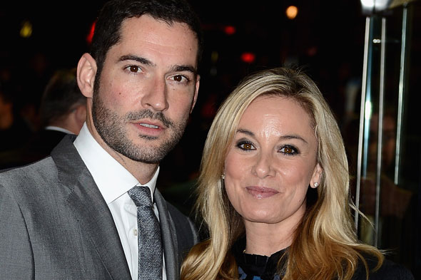 Tamzin Outhwaite and husband Tom Ellis separate a year after birth of second daughter